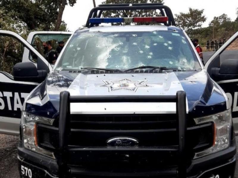 Emboscan a policías en Guerrero