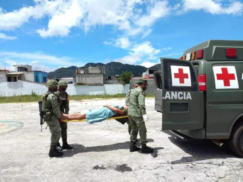 Emboscan al Ejército y Seguridad Pública en Pantelhó saldo 9 heridos.