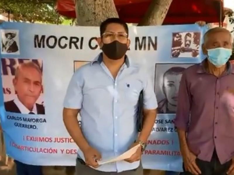 Emite CEDH recomendación por asesinato de líderes del MOCRI