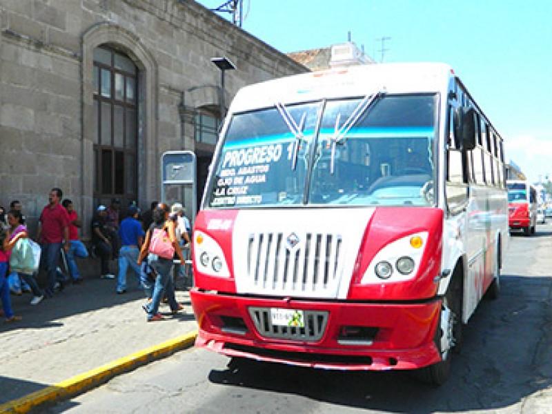 Emite Secretaría de Movilidad medidas de higiene para transporte público