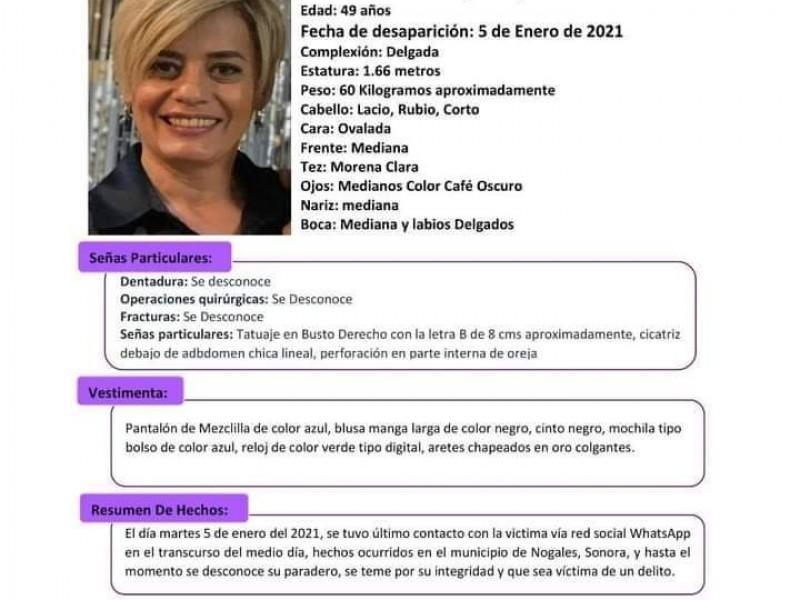 Emiten alerta ALBA por ex Funcionaria desaparecida