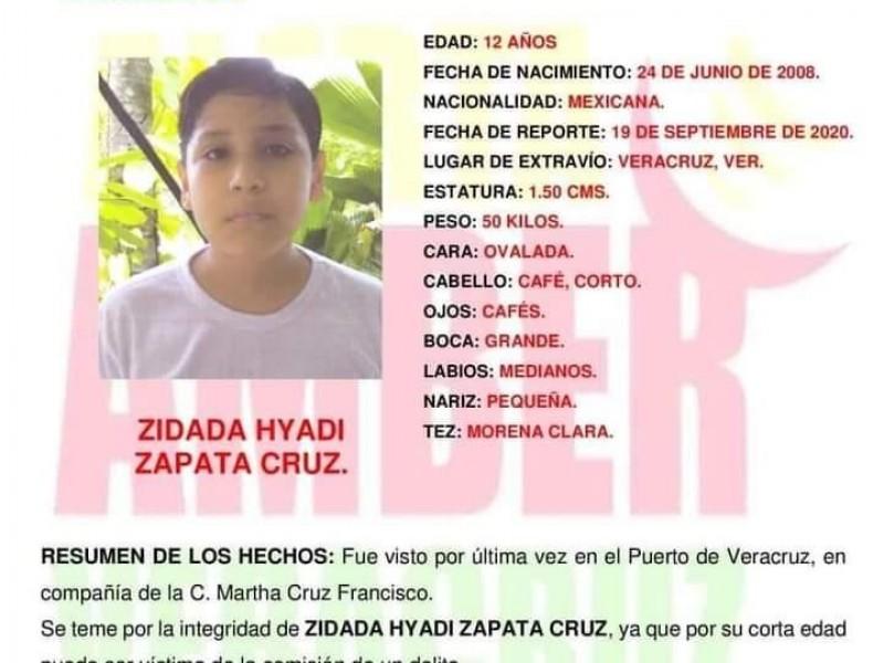Emiten Alerta Amber para localizar a menor desaparecido en Veracruz.