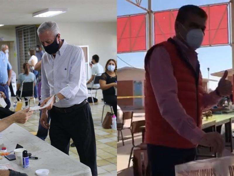 Emiten su voto Riquelme y Zermeño en Torreón