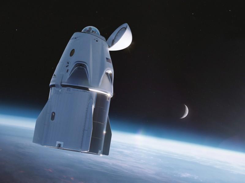 Emocionante momento en que tripulación civil SpaceX ve la tierra
