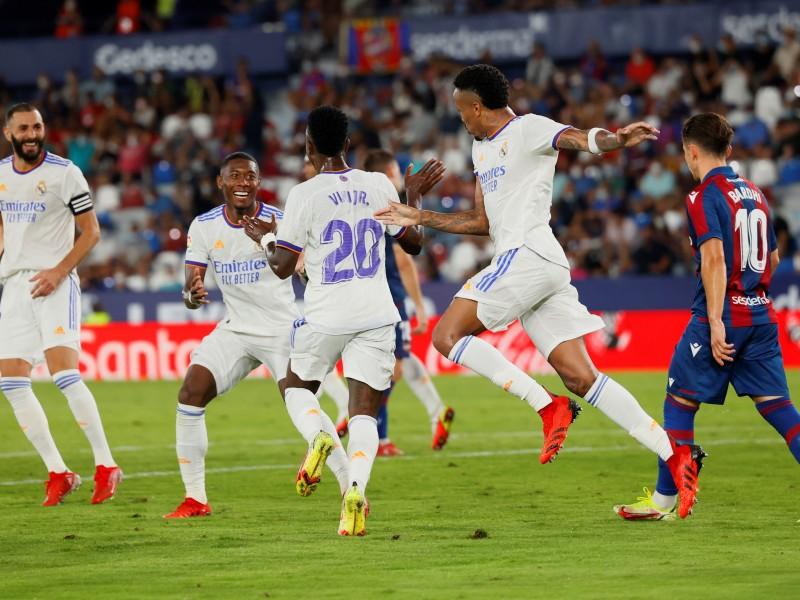Empata el Real Madrid con Vinicius como salvador