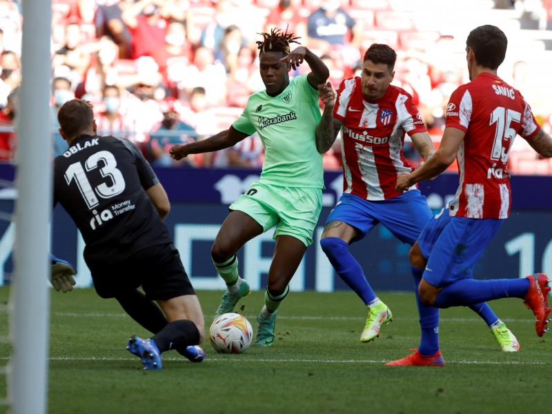 Empatan Atlético de Madrid y Athletic Club. Herrera tuvo minutos