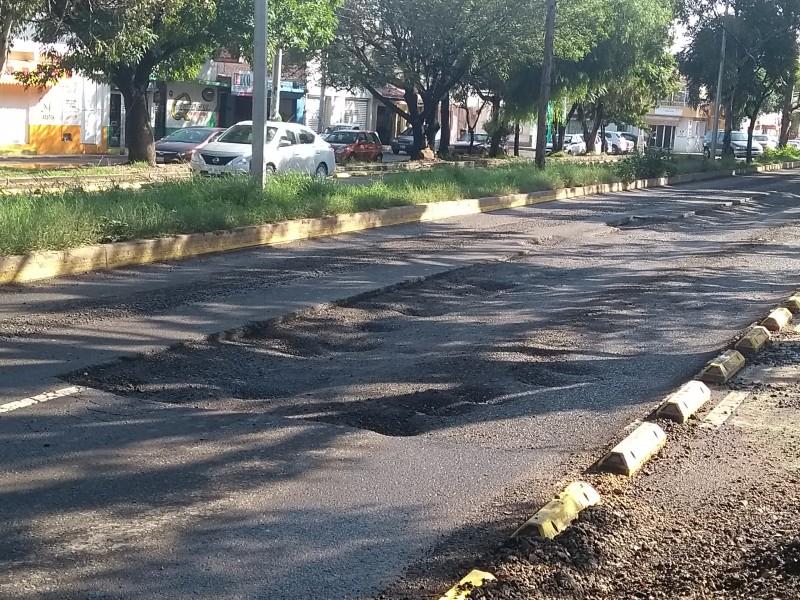 Empeoran condiciones en Av Coahuila