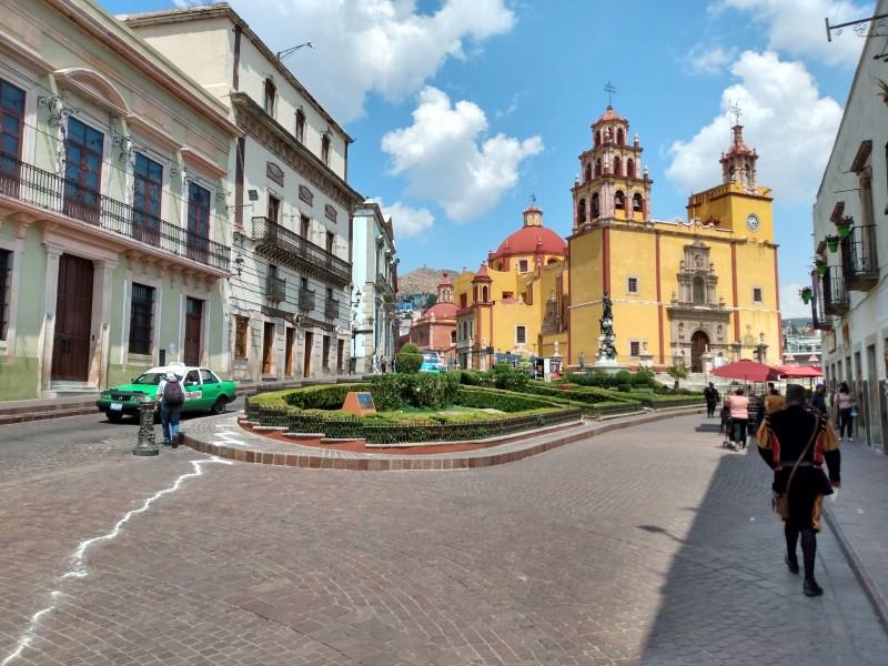 Empieza a repuntar turismo nacional e internacional en Guanajuato Capital