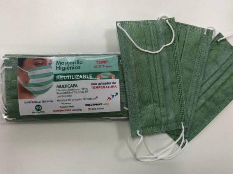 Empresa española crea mascarilla capaz de detectar infectados Covid-19
