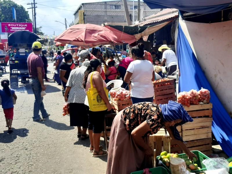 Empresarios de Tehuantepec consideran fallida la estrategia del cierre comercial