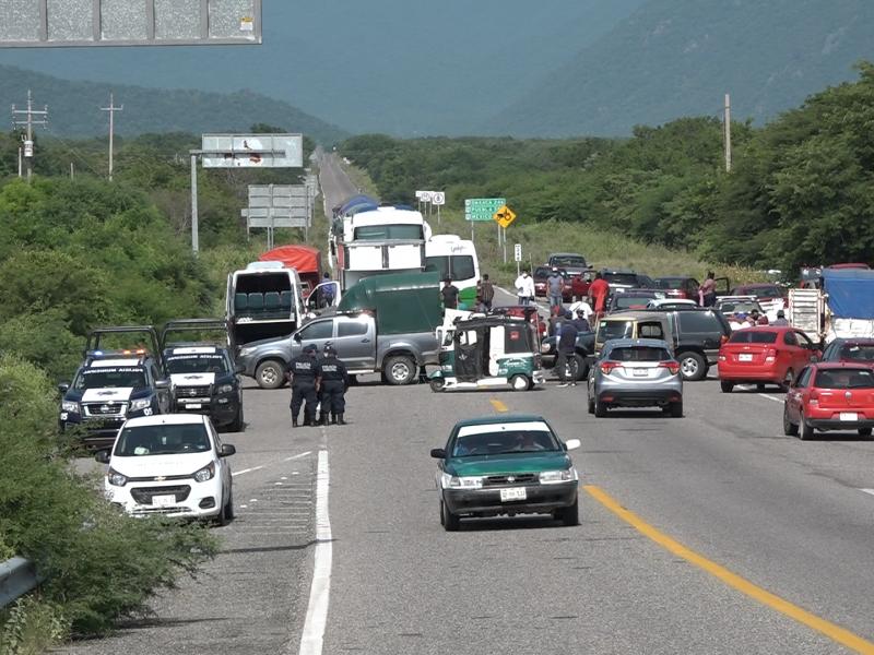 Empresarios istmeños reprueban omisión de autoridades para sancionar bloqueos carreteros
