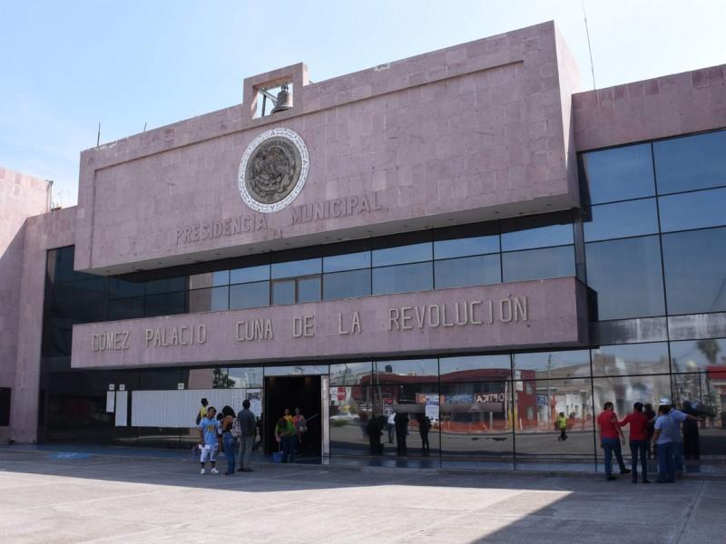 Empresarios demandan transparencia en recursos de Gomez Palacio.