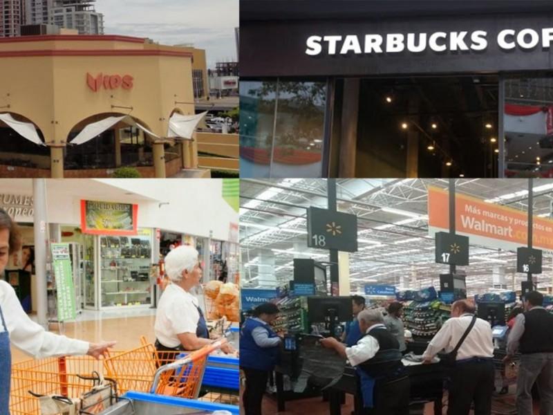 Empresas comerciales toman medidas por COVID-19