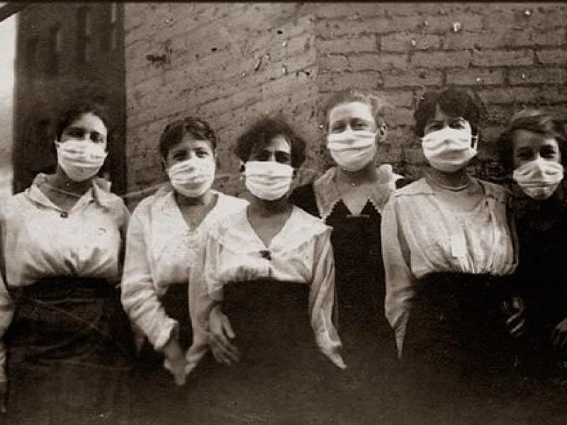 En 1918 fue el primer brote de influenza en Sonora
