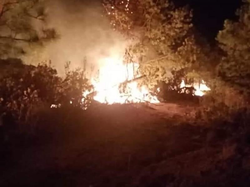 En 2021 han registrado 293 incendios forestales en Puebla