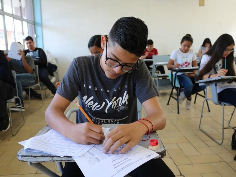 En Agosto aplicarán examen de ingreso a preparatoria
