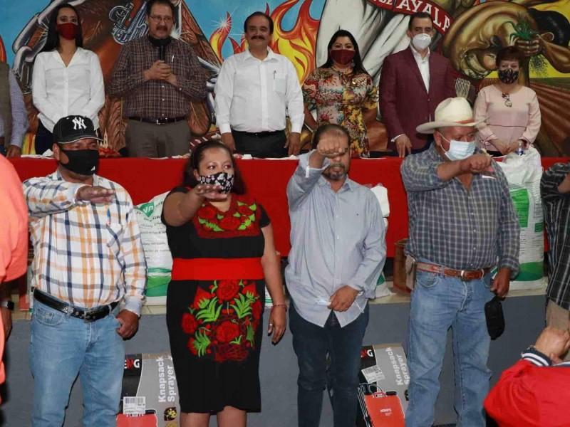 En alianza buscarán apoyos gubernamentales campesinos y agricultores de Zamora