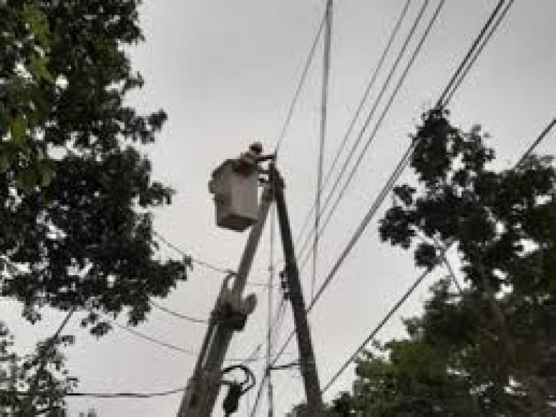 En Angostura autoridades piden a CFE solucionar fallas en suministro