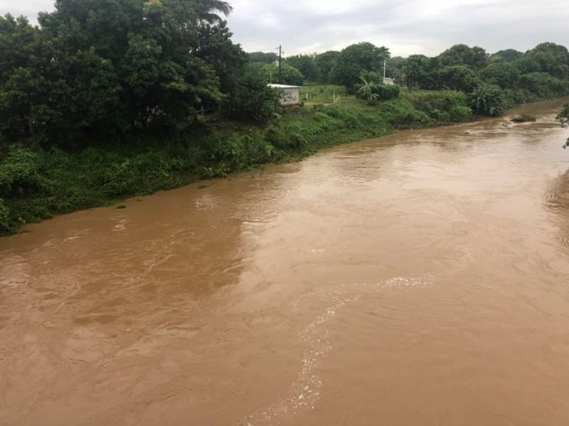 En aumento los niveles de los ríos Jamapa y Cotaxtla