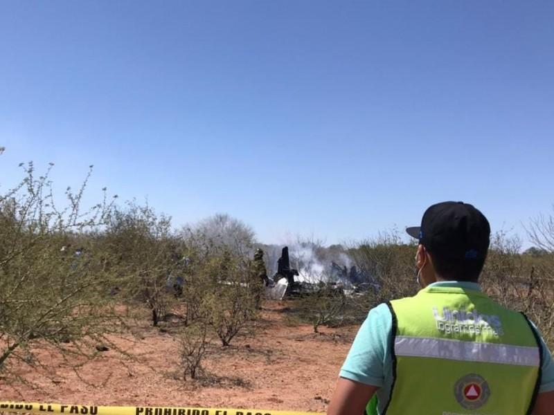 En avioneta que se desplomó viajaba funcionario de Sonora