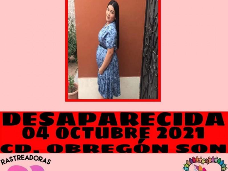 En cajeme desaparece mujer embarazada
