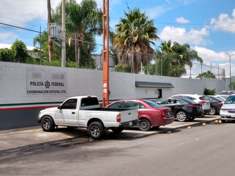 En calma policía federal en Guanajuato