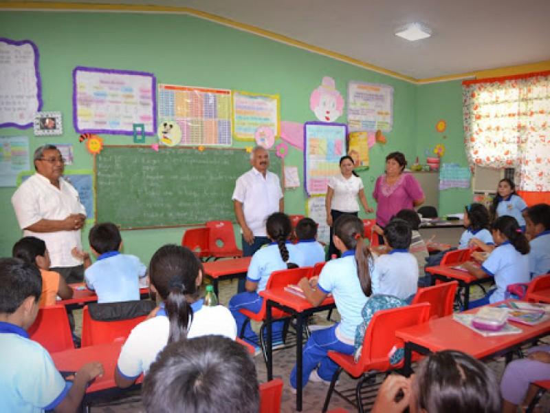 En Campeche, mil 400 escuelas listas para regresar a clases:Educación
