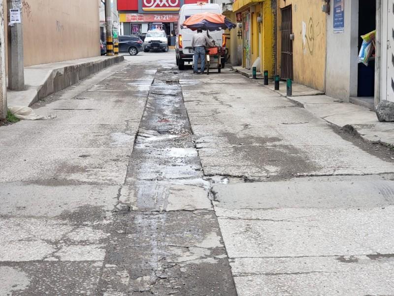 En Chachapa llevan años pidiendo mejora de calle