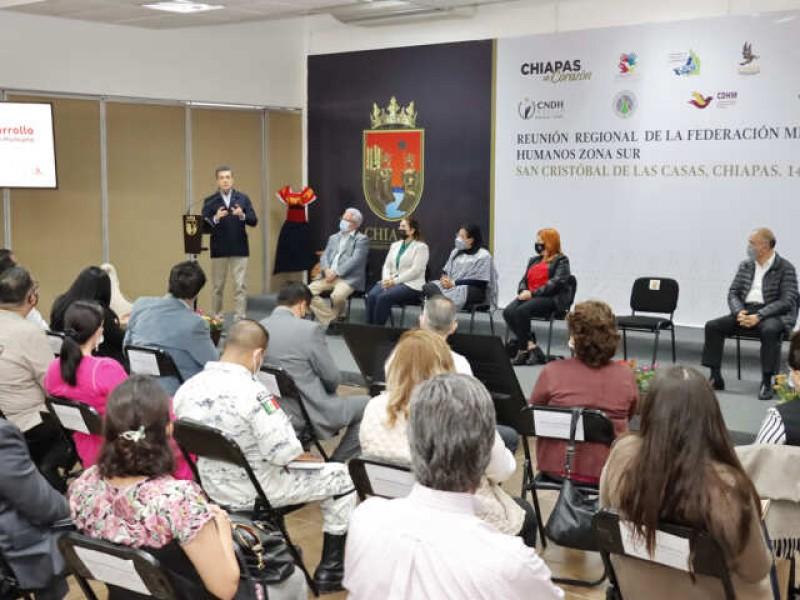 En Chiapas se ejercen y se respetan Derechos Humanos: Escandón