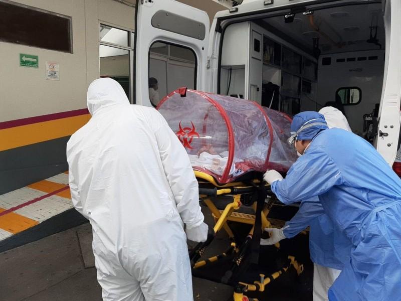 En cinco hospitales, mayor ocupación de camas Covid