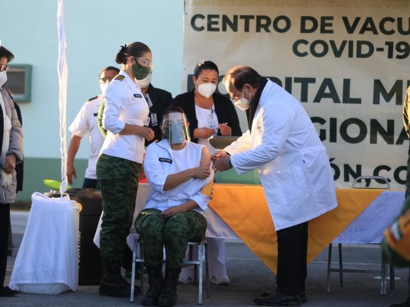 En Coahuila continúa la vacunación contra el Covid-19