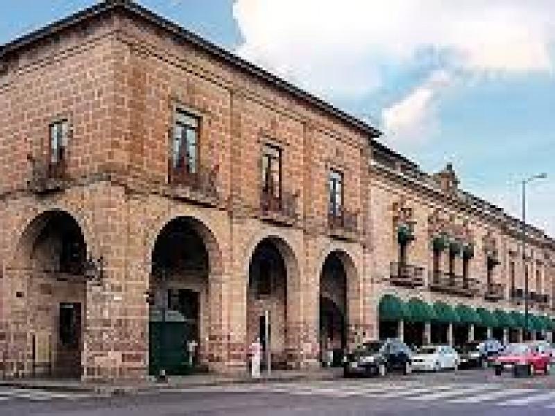 En deterioro centro de Morelia