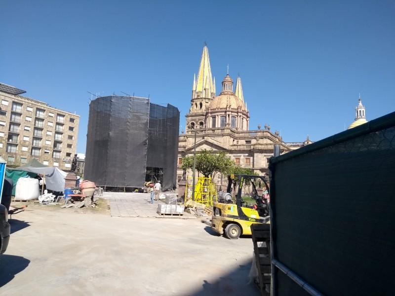 En Diciembre queda lista Plaza de Armas