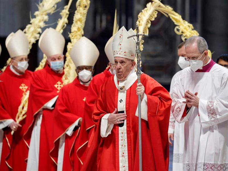 En Domingo de Ramos Papa Francisco llama a