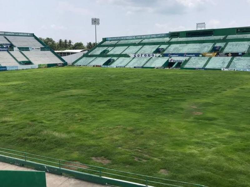 En el abandono Estadio Olímpico de Tapachula
