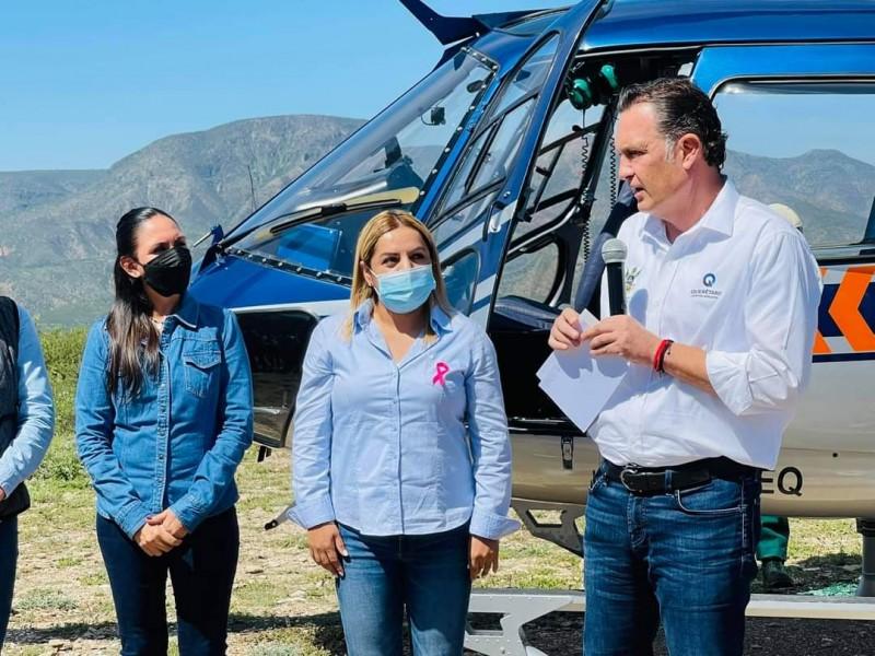 En equipo, Selene Salazar continúa trabajando por la Sierra Gorda