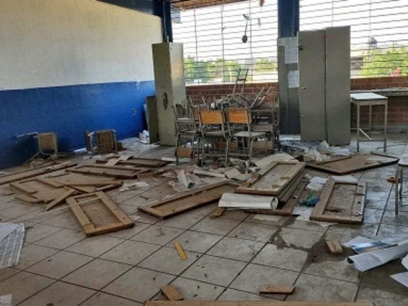 En escuelas vandalizadas no se podrá regresar a clases