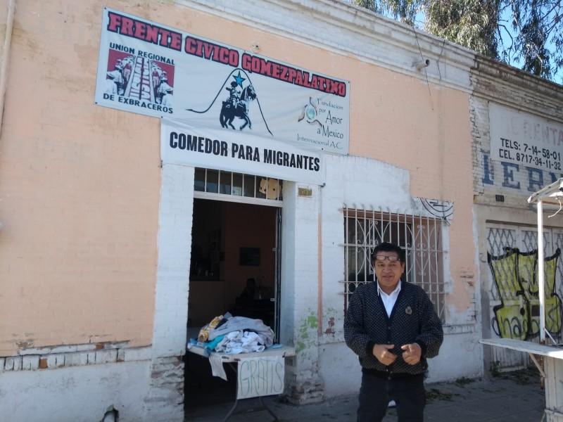 En Gómez Palacio ayudan a indocumentados