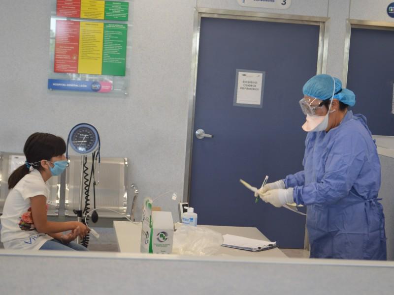 En Guanajuato 46 casos de Coronavirus; tres más que ayer