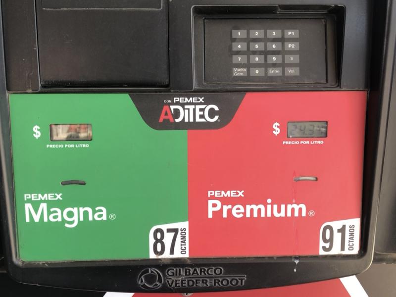 En Hermosillo la gasolina incremento entre 8 y 13 %
