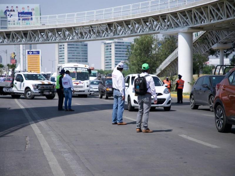 En la tercera semana del #HoyNoCircula 455 automóviles al corralón