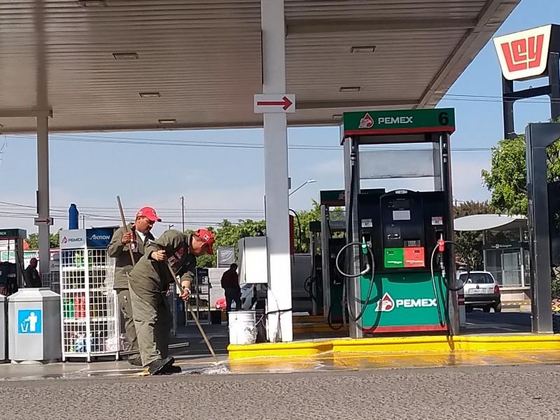 En León hay desabasto, no escasez de gasolina