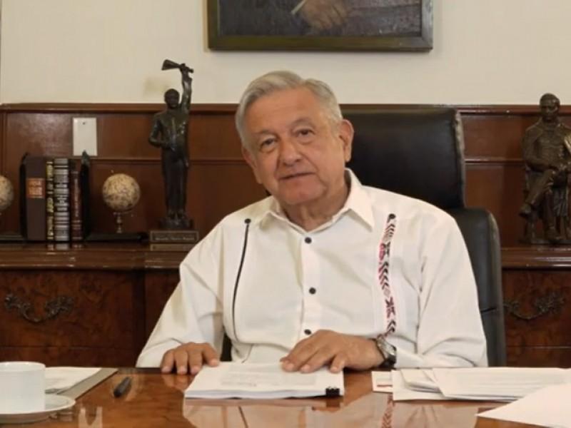 En lucha contra corrupción, México sería ejemplo mundial: AMLO