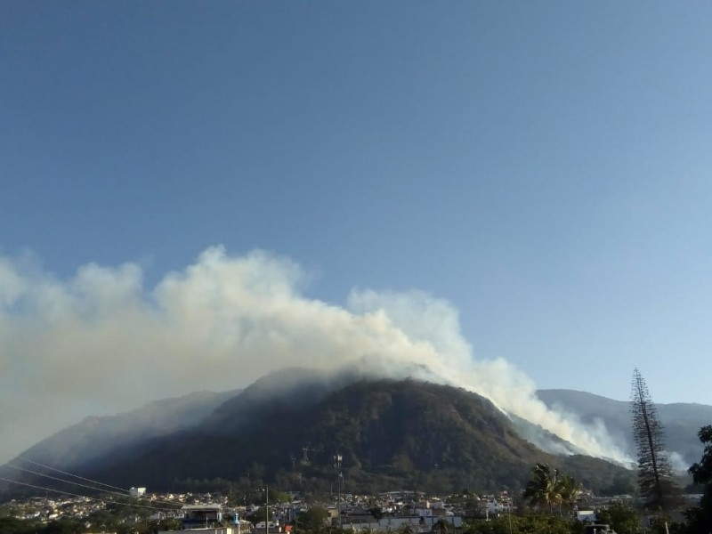 En marcha combate a incendio del San Juan