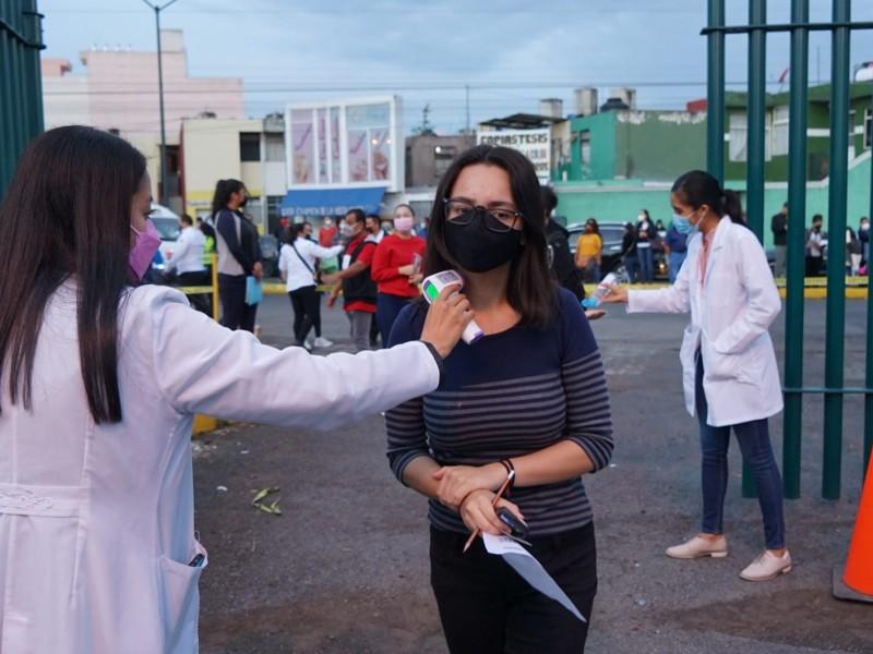 En Michoacán, 128 nuevos casos de Covid19 este jueves