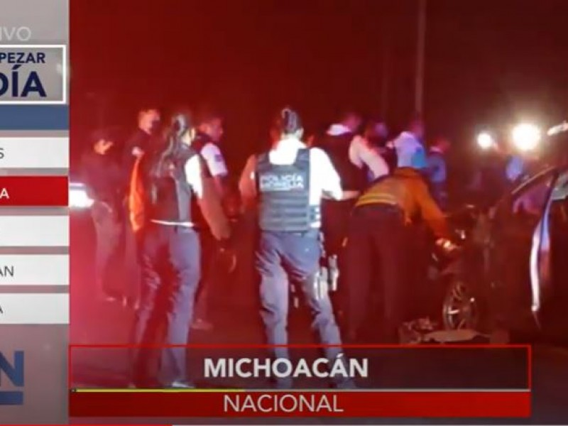 En Michoacán no para la violencia