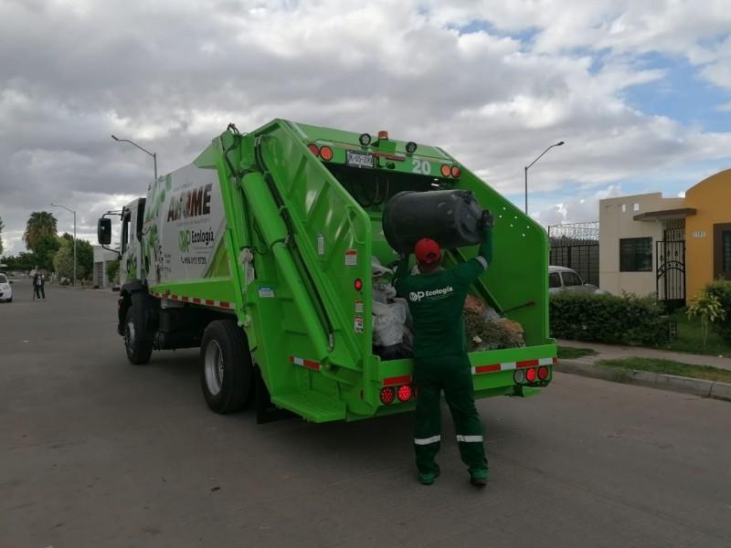 ¡Atentos! Navidad y Año nuevo no habrá recolección de basura