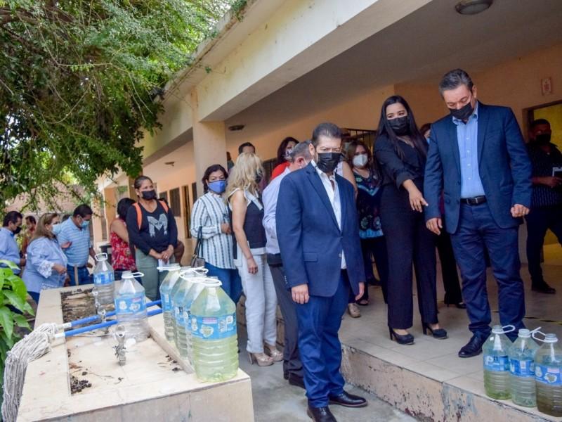 En Navojoa se inicia programa de reactivación de escuelas