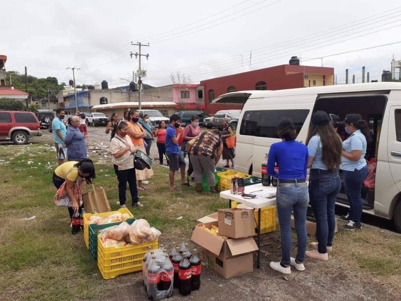En Nayarit aumenta demanda de apoyo alimentario por pandemia COVID,
