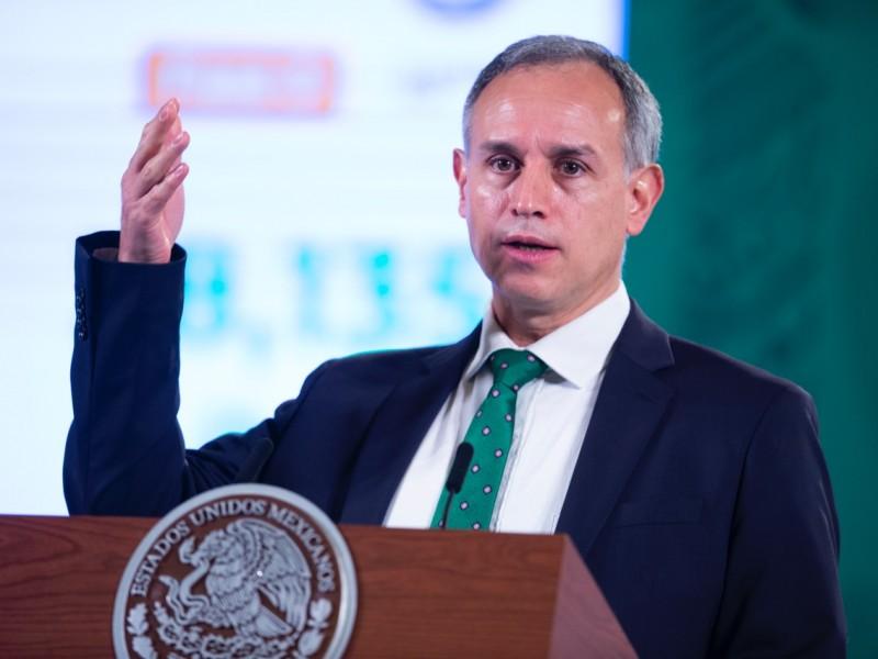 En octubre se logrará meta de vacunación: López Gatell